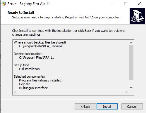 Registry First Aid Platinum 11.3